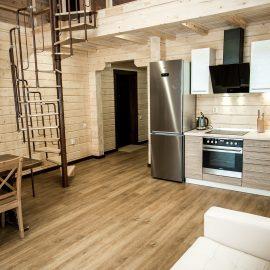 """Двухуровневый апартамент с 2 спальнями """"Студенческий"""" (Тип S)"""